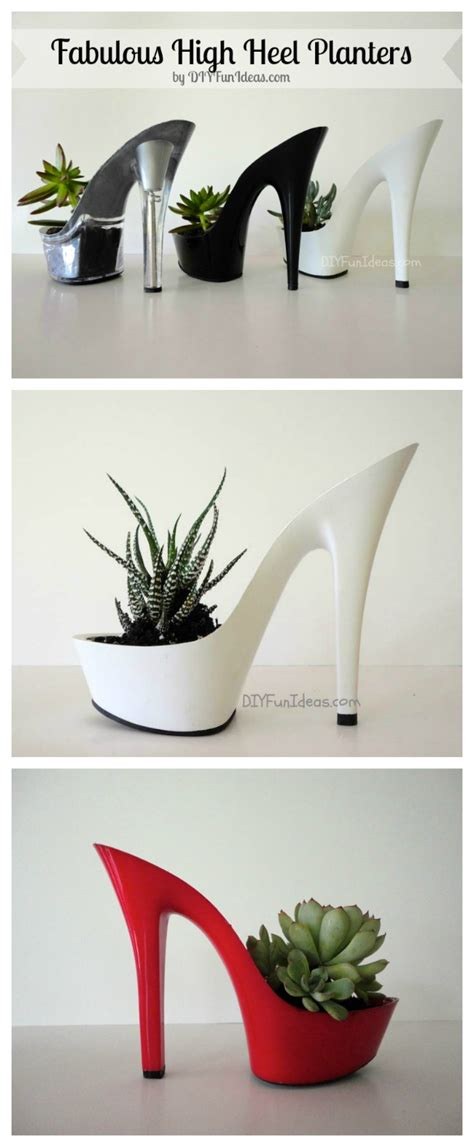 Planters And Citizens by Fabulous Diy High Heel Planters Part Deux Do It Yourself