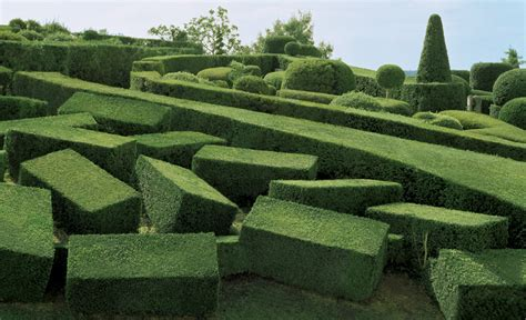 surreal views of the marqueyssac topiary gardens photographed by philippe jarrigeon colossal