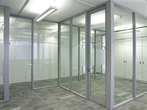 Transverto Monoblock Pre Built Glass Wall Avanti Systems