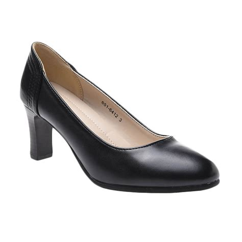 Sepatu Bata Hitam produk sepatu bata jual sepatu wanita hitam pantofel