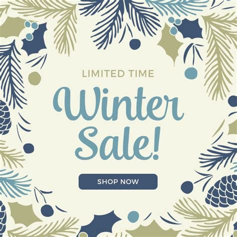 ideas winter sale limited time winter sale free fall winter promo