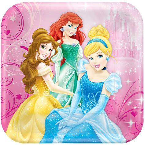 disney princess square dinner plates locks