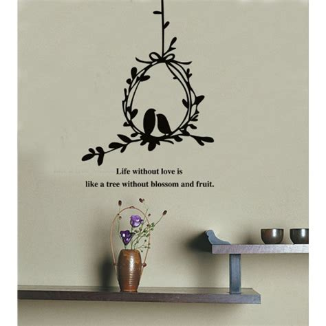 branches wall stickers olive branch and birds wall decal sticker quote wall decals vinyl wall stickers by