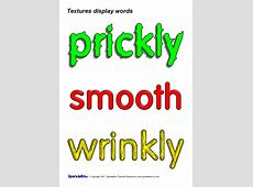Textures Display Words (SB679) - SparkleBox Wording