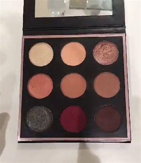 Manny Mua Eyeshadow Make Up Palette Eye Shadow Manny Mua Mesh manny mua and makeup collaboration glamistic