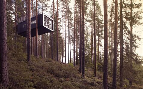 tree hotel sweden your childhood tree house is all grown up see inside