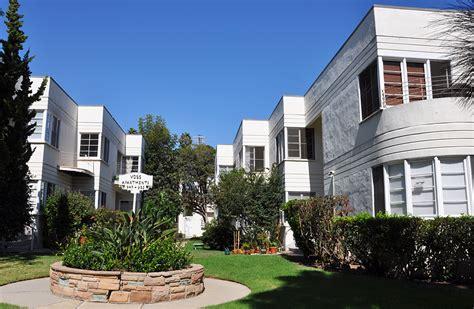 appartments in santa monica california art deco streamline moderne buildings