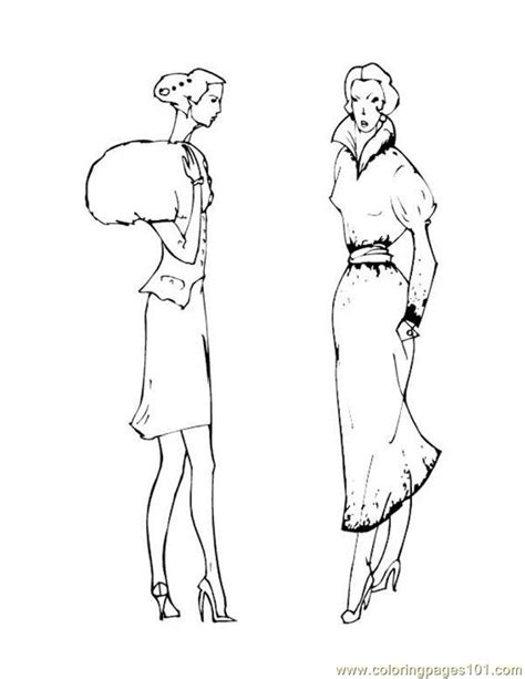Fashion Coloring Pages Wigs Coloring Pages Fashion Coloring Pages