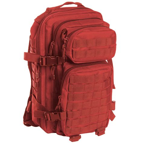 one rucksack mil tec molle us assault pack small backpacks