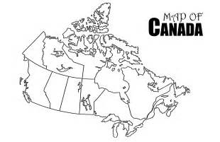 outline of canada map geography grade 6 social studies