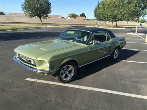 67 mustang gt for sale 67 mustang gt equipment 289 v8 automatic c code