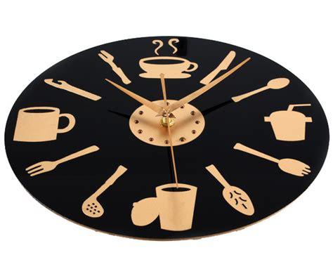 horloge de cuisine moderne d 233 co cuisine horloge