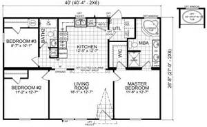 sle house floor plans arcola 28 x 40 1067 sqft mobile home factory expo home