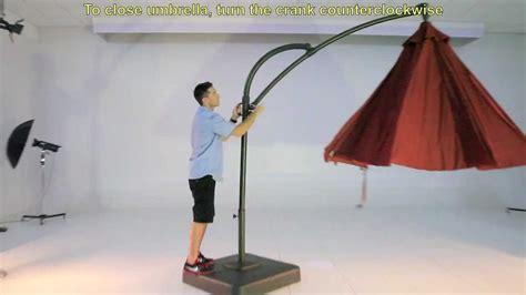 Kohls 10.5 Ft Solar Offset Umbrella   YouTube