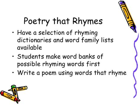 Words That Rhyme With Light by Children Celebrate Nature By Finding The Power Of Poetry
