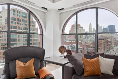 Santa Fe Style Homes by Two Luxurious Lofts On Sale In Tribeca New York 11