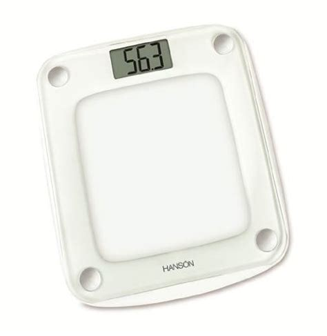 hanson digital bathroom scales hanson neva 12119 glass electronic bathroom scale