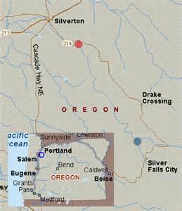 silver falls oregon map map for silver creek oregon white water silver falls