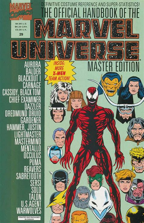 Master Vol 6 1 official handbook of the marvel universe master edition vol 1 29 marvel database fandom