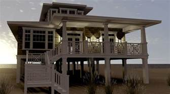 seaside house plans beach house plans architectural designs