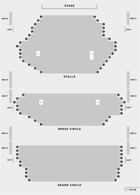 grand opera house seating plan grand opera house york official tickets for york s grand opera house
