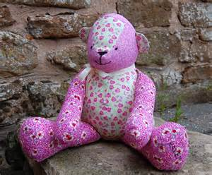 Patchwork Teddy Bears - free mccalls pattern patchwork teddy sewmanju