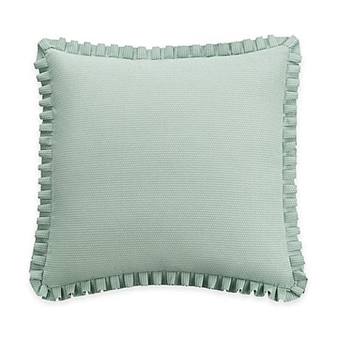 euro pillows bed bath and beyond williamsburg palace european pillow sham in green bed