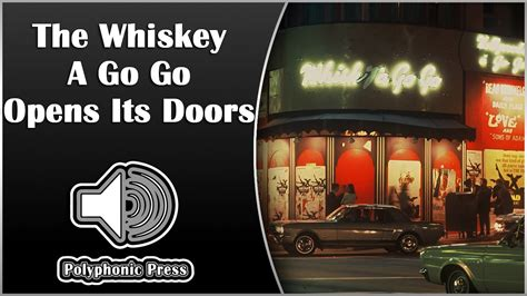 Doors Whiskey Bar by Doors Whiskey The Byrds And The Doors Whiskey Agogo