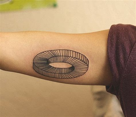 illusion tattoo optical illusion tattoos designs ideas and meaning
