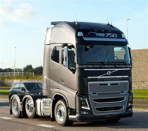 volvo fh model  spotted  mackday amsterdam american trucks camions