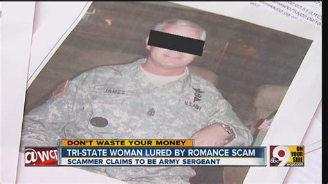 mark a milley military romance scams online romance scam youtube