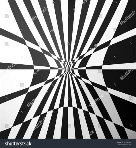 pattern distortion vector checkered pattern distortion effect vector art stock