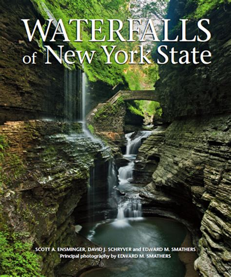 waterfall books giveaway waterfalls of new york state outdoors
