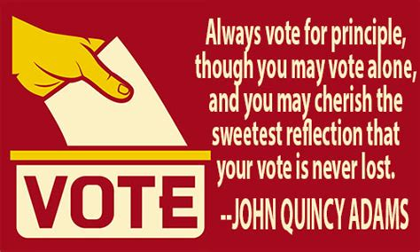 Vote For The Right Candidate Quotes