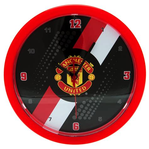Numbers Wall Stickers manchester united fc wall clock new official football ebay