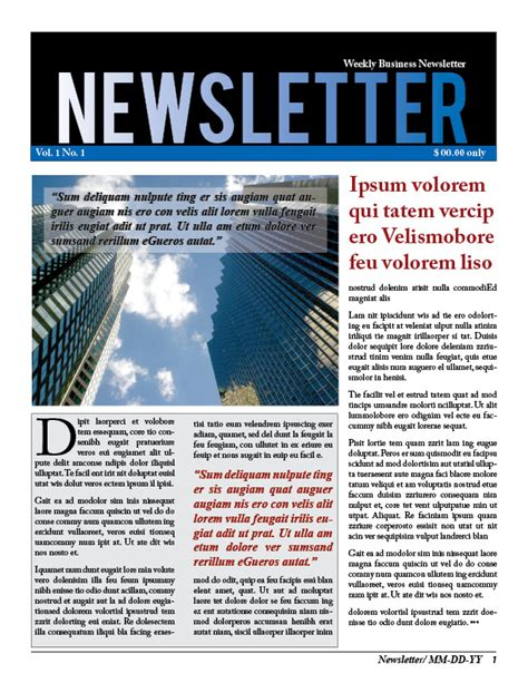 keep your customers up to date with a business newsletter