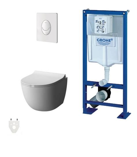 grohe wc pack wc suspendu grohe daily o sans banyo
