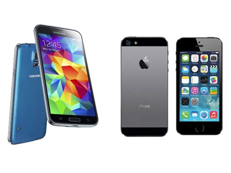 apple s5 mobile samsung galaxy s5 or apple iphone 5s which should i buy