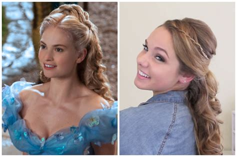 2015 cinderella hair tutorial how to look your hairstyle like cinderella 10