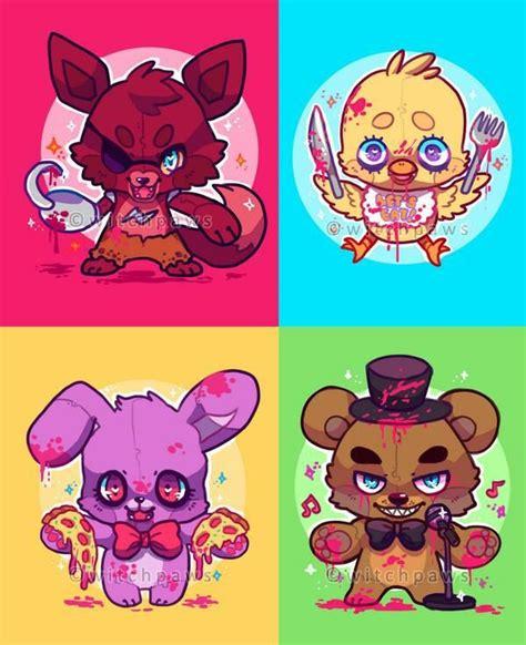 imagenes de fnaf kawaii fnaf kawaii anime amino