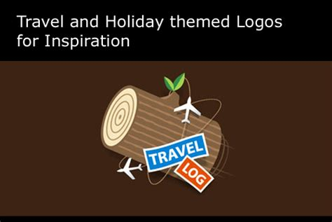 christmas themed logos dzinegeek travel and holiday themed logos for inspiration