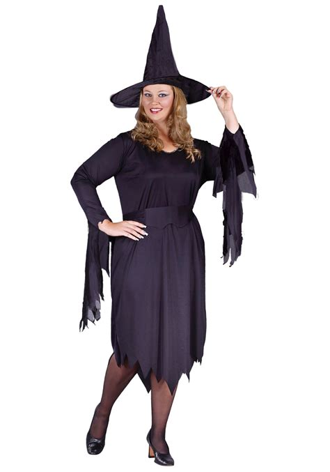 womens plus size tattered witch costume womens classic