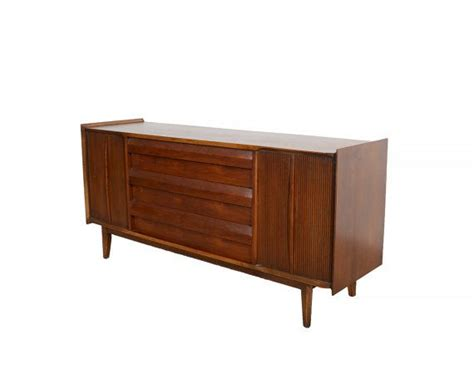 bedroom credenza walnut credenza lane first edition mid century modern