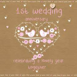 wedding anniversary card karenza paperie