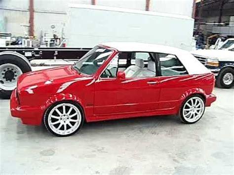 volkswagen caribe convertible cabriolet mk1