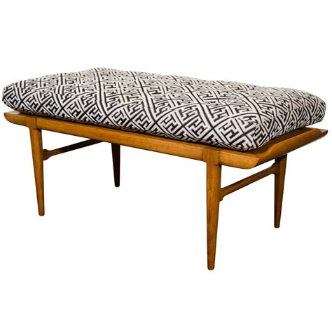 oriental bench midcentury asian inspired bench by tomlinson at 1stdibs