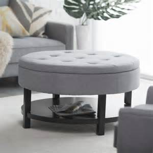 Coffee Table With Ottoman Storage Belham Living Coffee Table Storage Ottoman With Shelf