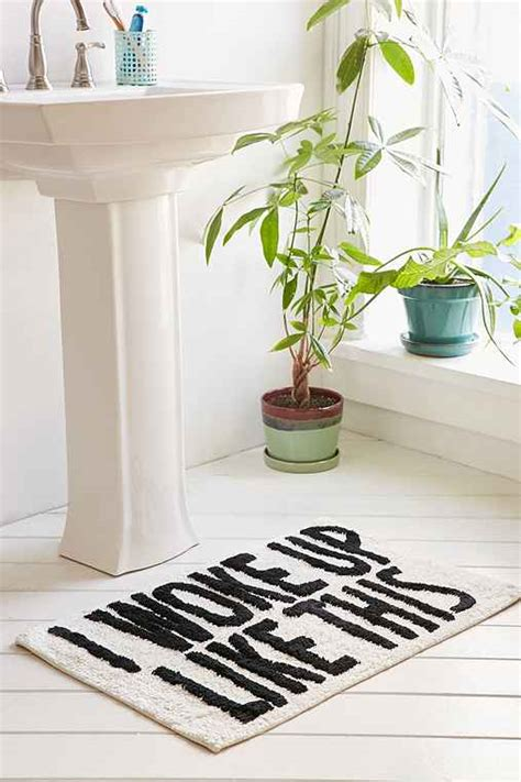 12 bath mats from outfitters that will make you