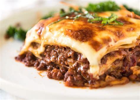 best lasagna recipe best lasagna with bechamel sauce