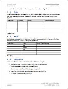 Feasibility Study Template Doc by Feasibility Study Template
